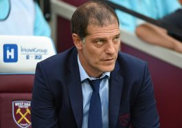 STRATFORD, ENGLAND - AUGUST 04:  Manager of West Ham United, Slaven Bilic looks on during the UEFA Europa League Qualification round match between West Ham United and NK Domzale at London Stadium on August 4, 2016 in Stratford, England.  (Photo by Tom Dulat/Getty Images)