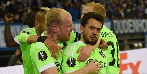 «Аякс» разгромил «Лион» впервом матче полуфинала Лиги Европы