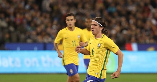 Жулиано помог сборной Бразилии забить гол на11-й секунде