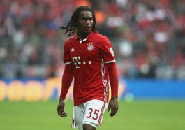MUNICH, GERMANY - SEPTEMBER 17:  Renato Sanches of Muenchen looks on during the Bundesliga match between Bayern Muenchen and FC Ingolstadt 04 at Allianz Arena on September 17, 2016 in Munich, Germany.  (Photo by Alexander Hassenstein/Bongarts/Getty Images)
