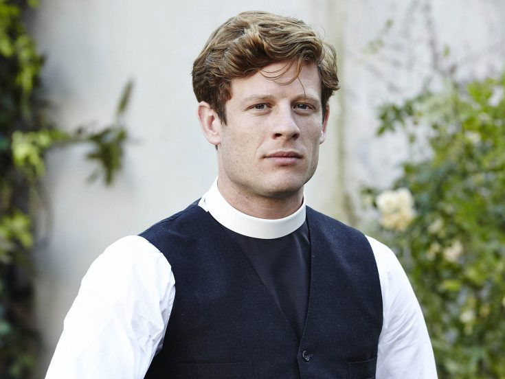 KUDOS FOR itv Grantchester Episode 2 Pictured:JAMES NORTON as Sidney Chambers. This image is the copyright of ITV/Kudos and must only be used in relation to Grantchester.