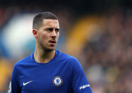 LONDON, ENGLAND - DECEMBER 02: Eden Hazard of Chelsea during the Premier League match between Chelsea and Newcastle United at Stamford Bridge on December 2, 2017 in London, England. (Photo by Catherine Ivill/Getty Images)