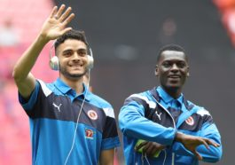 Reading v Huddersfield at Wembley. Reading's Tiago Ilori